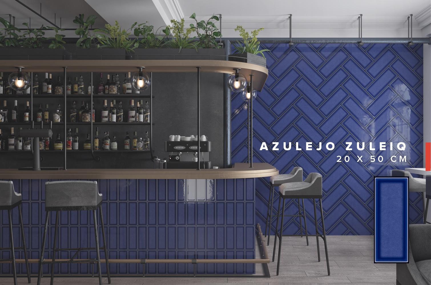 Lanzamiento Azulejo Zuleiq